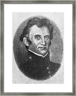 William Beaumont Framed Print by Library Of Congress