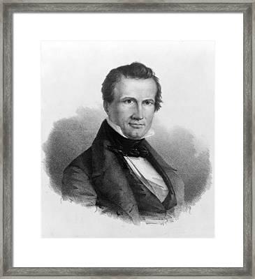 William Jordan Graves (1805-1848) Framed Print by Granger