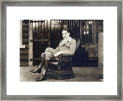 William K. Vanderbilt Framed Print by Underwood Archives