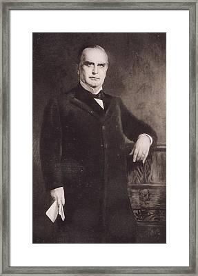 William Mckinley Framed Print by American School