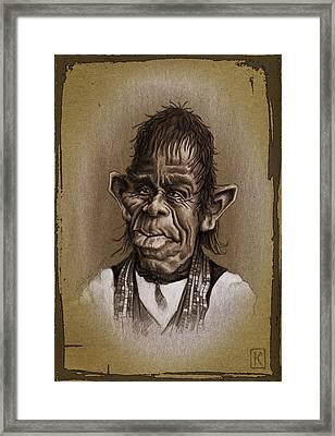 William Not Man Framed Print by Andre Koekemoer