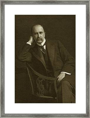William Osler Framed Print by National Library Of Medicine