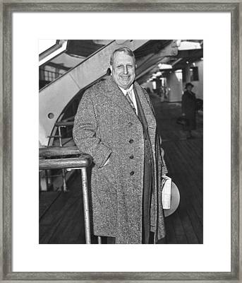 William Randolph Hearst Framed Print by Underwood Archives