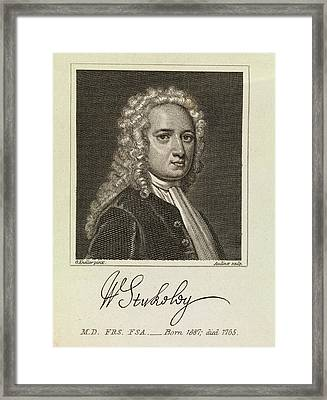 William Stukeley Framed Print by Middle Temple Library