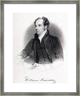 William Swainson Framed Print by Paul D Stewart