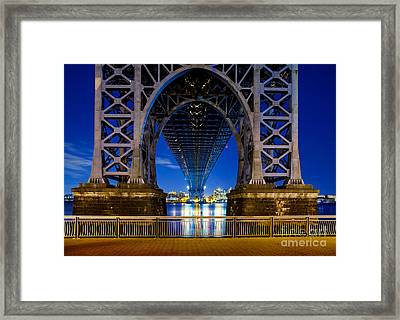 Williamsburg Bridge 2 Framed Print by Az Jackson