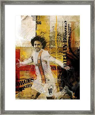Willian Borges Di Silva Framed Print by Corporate Art Task Force