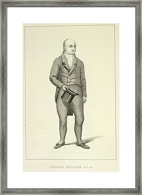 Willliam Bullock Framed Print by British Library