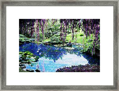 Willow Pond Framed Print by Jeanette Brown