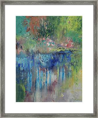 Willows Framed Print by Michael Creese