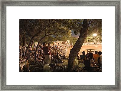 Wimberley Rodeo Framed Print by Robert Anschutz