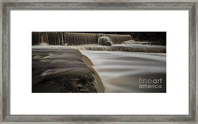 Wimberley Waterfall Framed Print by Richard Mason