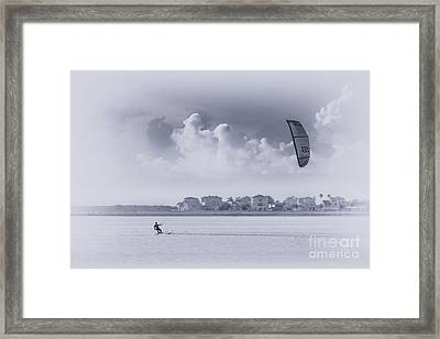 Wind Beneath My Wing Framed Print by Marvin Spates