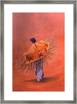 Wind Dancer Framed Print by Jerry McElroy