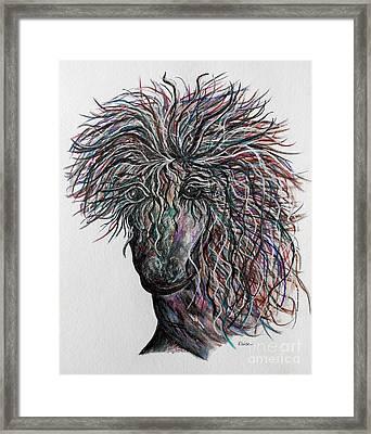 Wind Framed Print by Eloise Schneider