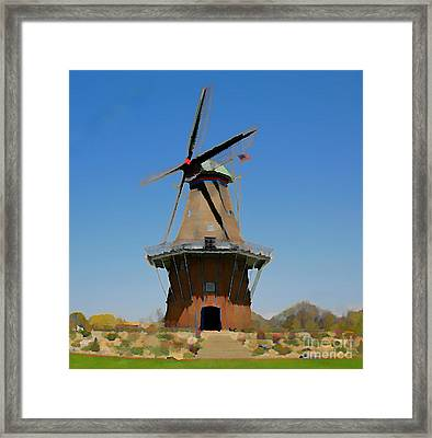 Wind Mill  Framed Print by Robert Pearson