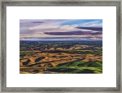 Wind Framed Print by Ryan Manuel