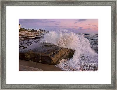 Windansea Beach 2 Framed Print by Eddie Yerkish