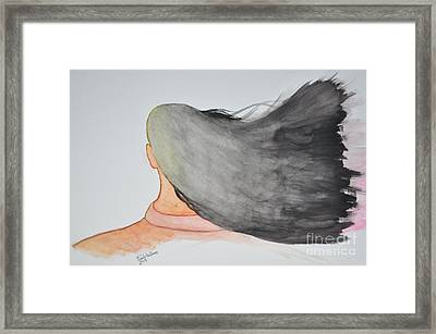 Windblown Framed Print by Frank Williams