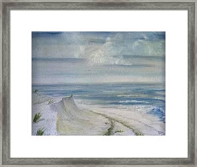 Windblown Framed Print by Judy Hall-Folde
