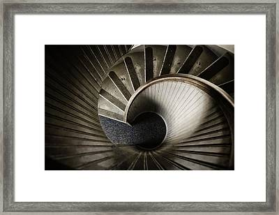 Winding Down Framed Print by Joan Carroll
