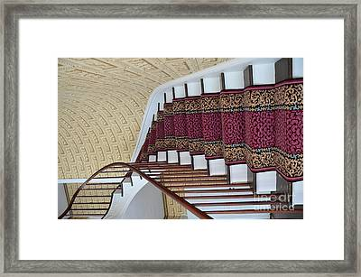 Winding Staircase Framed Print by Kathleen Struckle