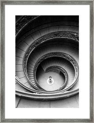 Winding Stairway Framed Print by Thomas D McManus