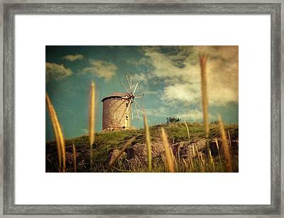 Windmill 14 48 Framed Print by Taylan Soyturk