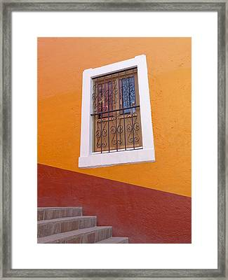 Window 1 Framed Print by Douglas J Fisher