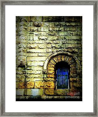 Window And Wall Framed Print by James Aiken