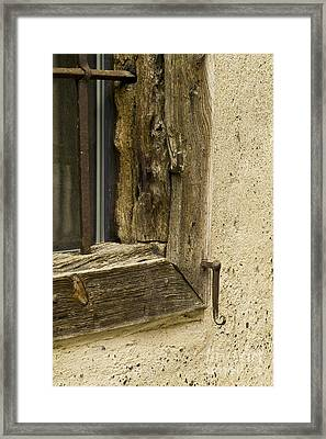 Window Frame Detail 2 Framed Print by Heiko Koehrer-Wagner