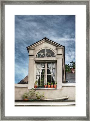 Window Garden Framed Print by Brenda Bryant
