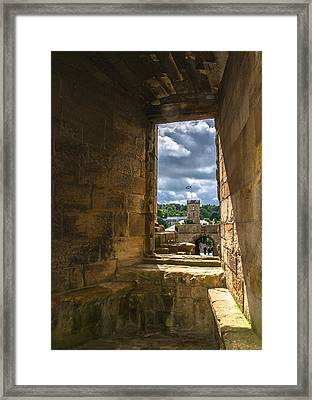 Window In Linlithgow Palace Framed Print by Andreas Berthold