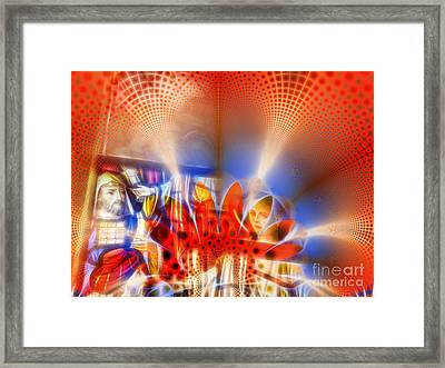 Window Of Illusions Framed Print by Ian Mitchell