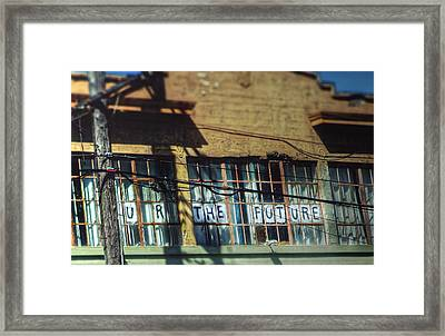 Window Of Opportunity  Framed Print by Kenny Noddin