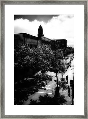 Window On Lisbon Street Framed Print by Bob Orsillo