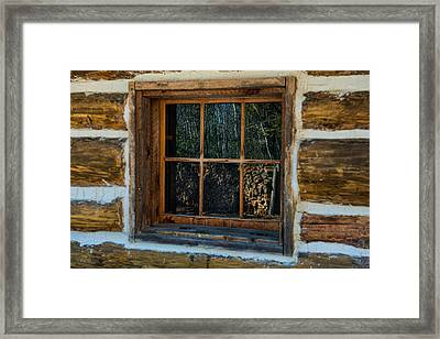 Window Reflection Framed Print by Paul Freidlund