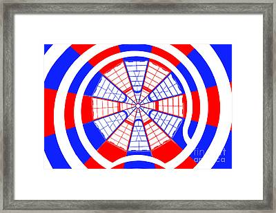 Window To Another World Kaleidoscope Framed Print by Az Jackson