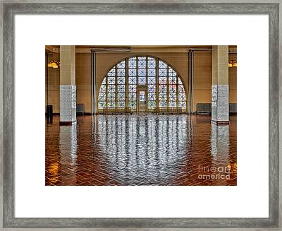 Window To Freedom Framed Print by Susan Candelario