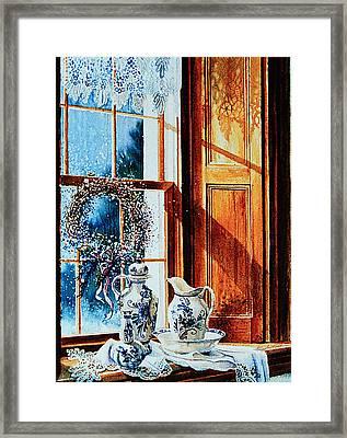Window Treasures Framed Print by Hanne Lore Koehler