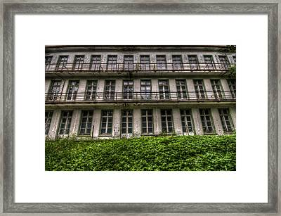 Windows Everywhere Framed Print by Nathan Wright