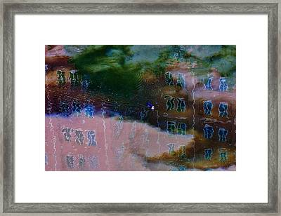 Windows Reflected Framed Print by Darby Donaho