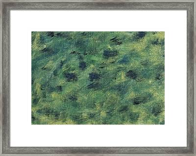 Windswept Fields Framed Print by Harmeet Singh