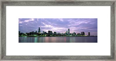 Windy City Framed Print by Jon Neidert