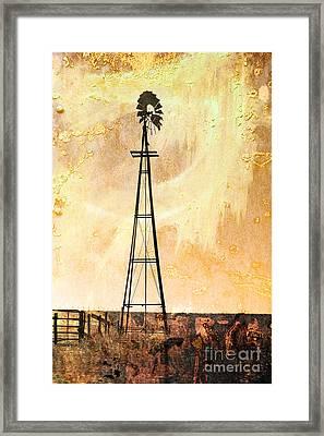 Windy Framed Print by Randi Grace Nilsberg