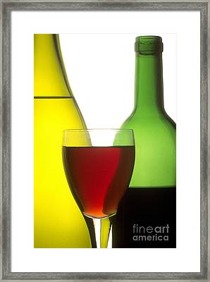 Wine Framed Print by Bernard Jaubert