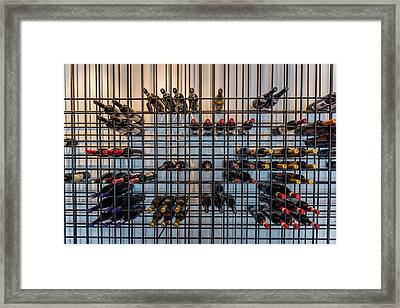 Wine Bottles, Reykjavik, Iceland Framed Print by Panoramic Images