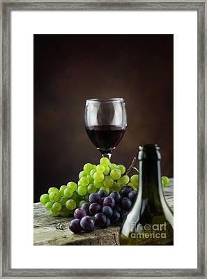 Wine Concept Framed Print by Mythja  Photography