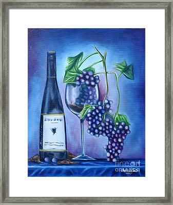 Wine Dance Framed Print by Ruben Archuleta - Art Gallery
