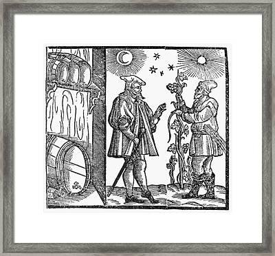 Wine Merchant, 1582 Framed Print by Granger
